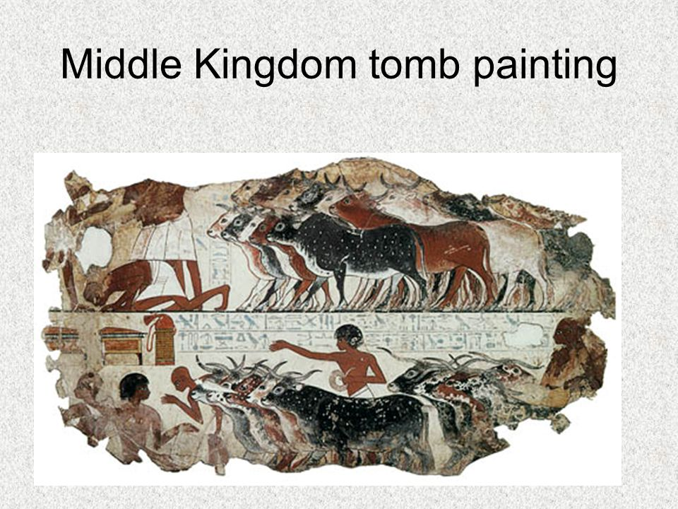 Middle Kingdom tomb painting