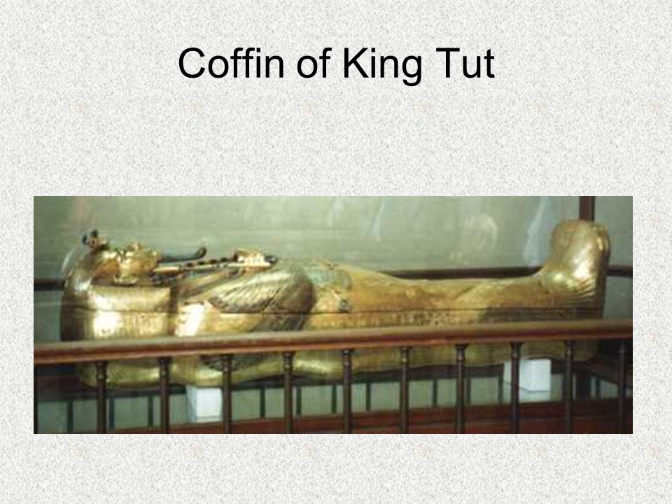 Coffin of King Tut