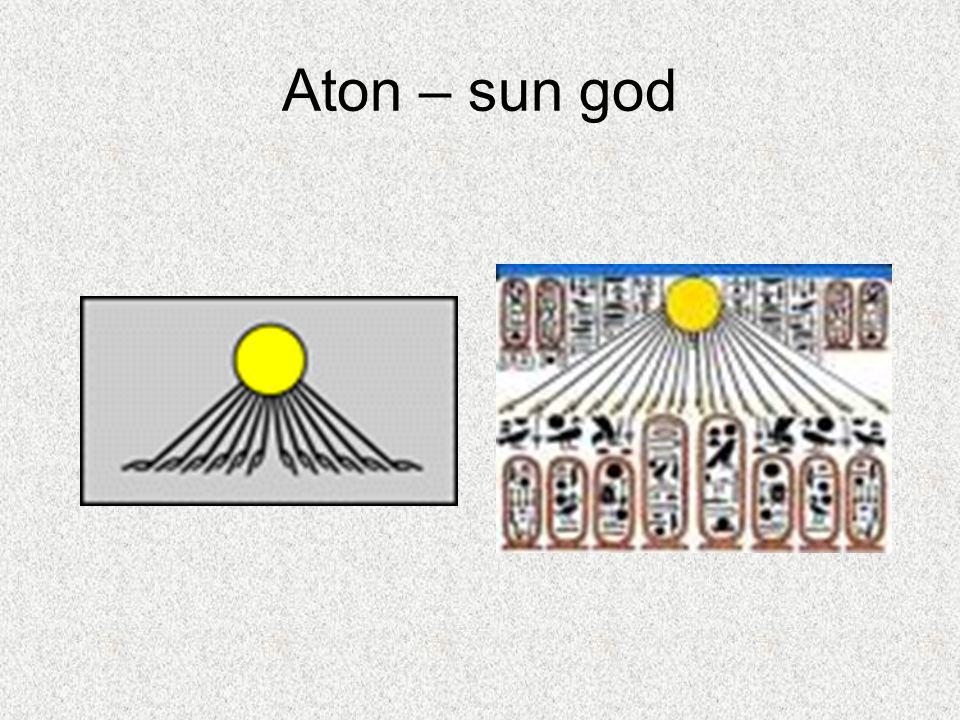 Aton – sun god