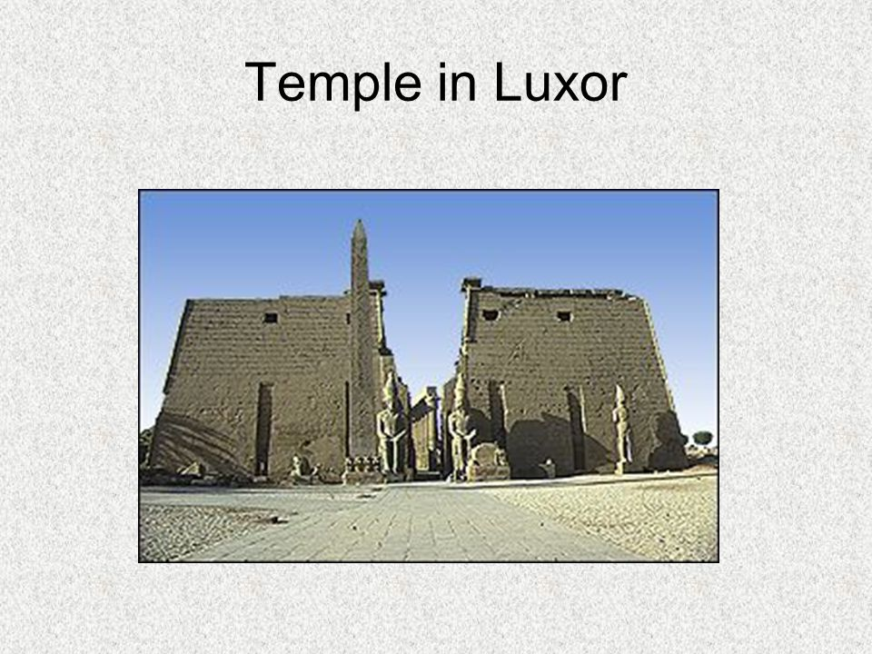 Temple in Luxor