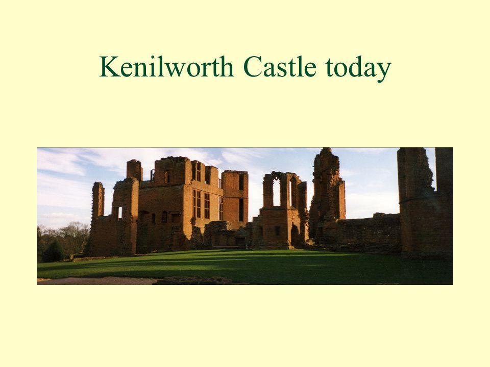 Kenilworth Castle today