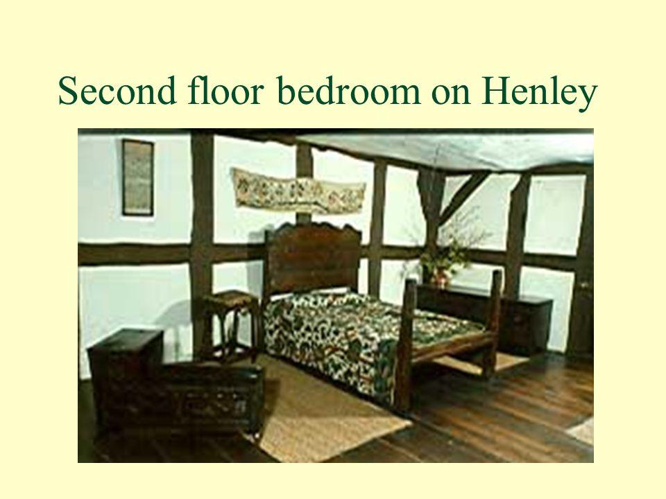 Second floor bedroom on Henley