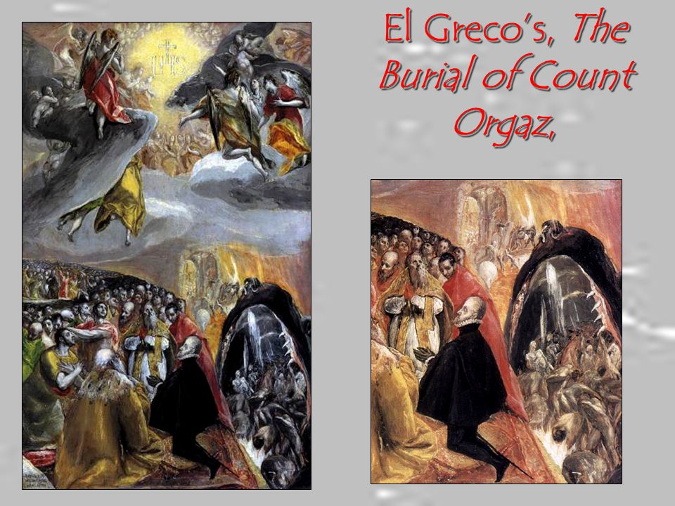 El Greco's, The Burial of Count Orgaz,