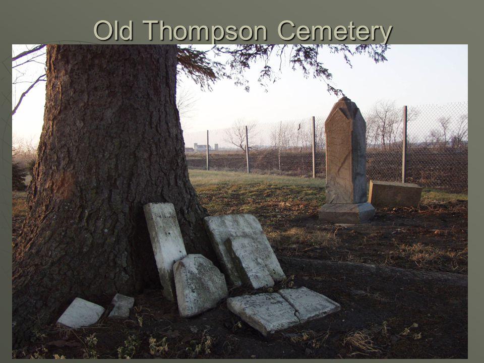 Old Newburg Cemetery Newburg Twp. – N.W. of St. Ansgar