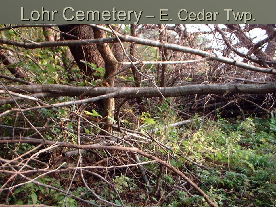 Old Thompson Cemetery