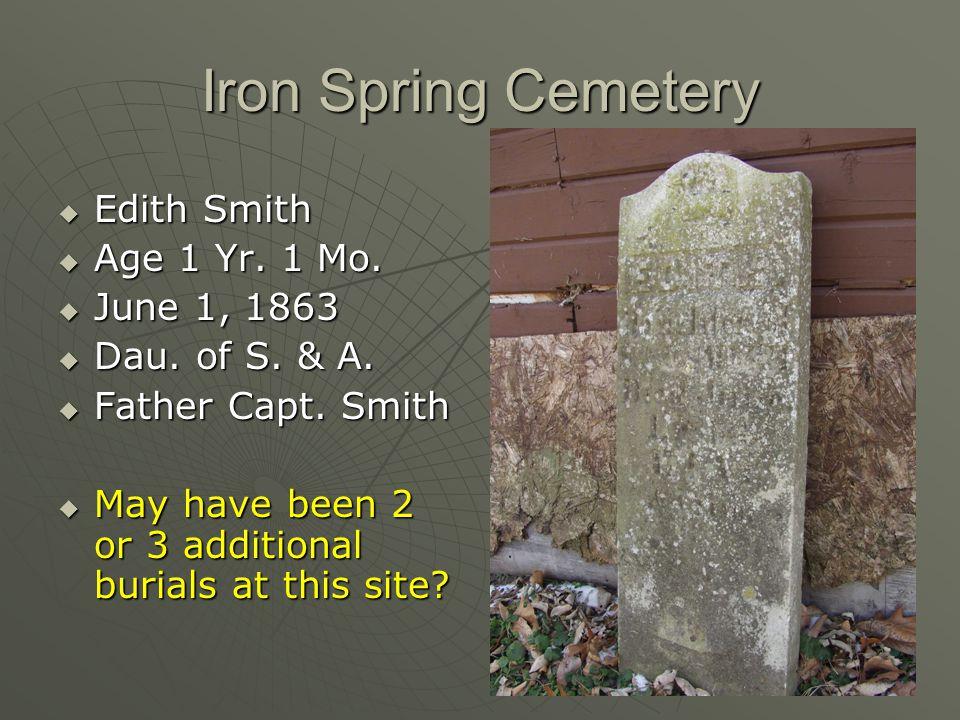 Lohr Cemetery – E. Cedar Twp.