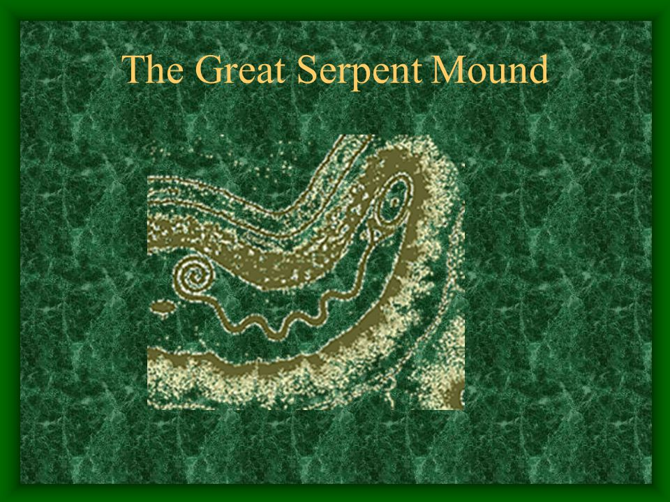 The Great Serpent Mound Besides building enclosed earthen structures such a Fort Ancient, scholars now believe that the Fort Ancient peoples also cons