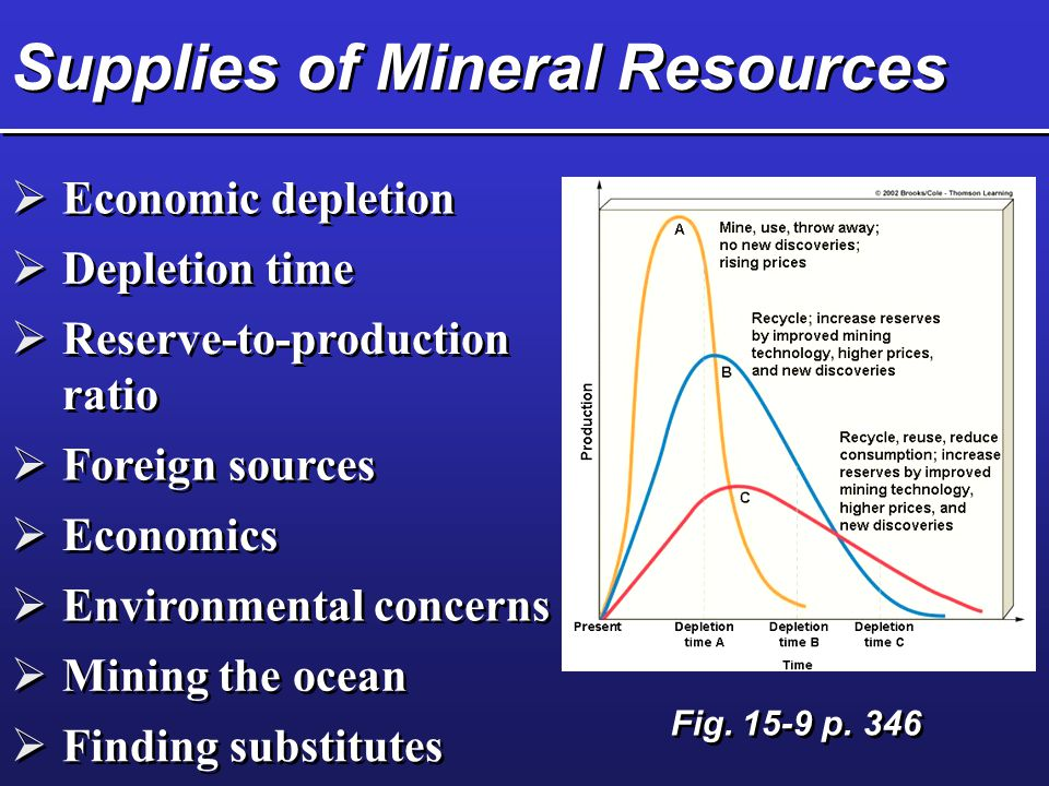 Evaluating Energy Resources  Renewable energy  Non-renewable energy  Future availability  Net energy yield  Cost  Environmental effects Fig.