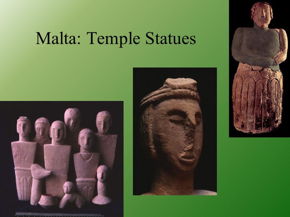 Malta: Fat Ladies from Hagar Qim Temple