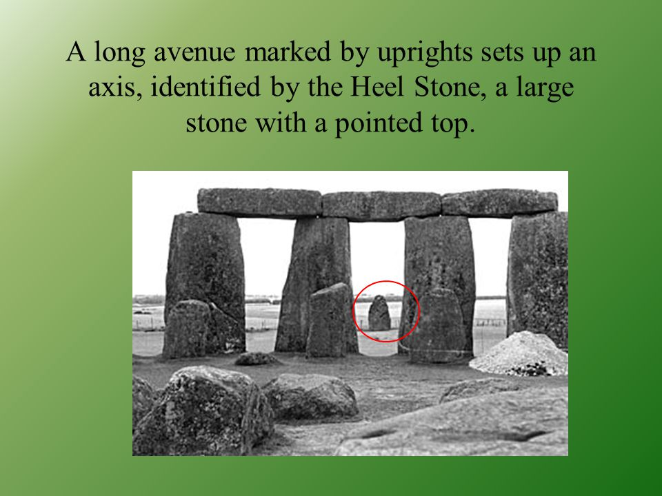 Stonehenge was built in several phases on a sacred site on the Salisbury Plain in a series of concentric rings of standing stones around an altar stone at the center.