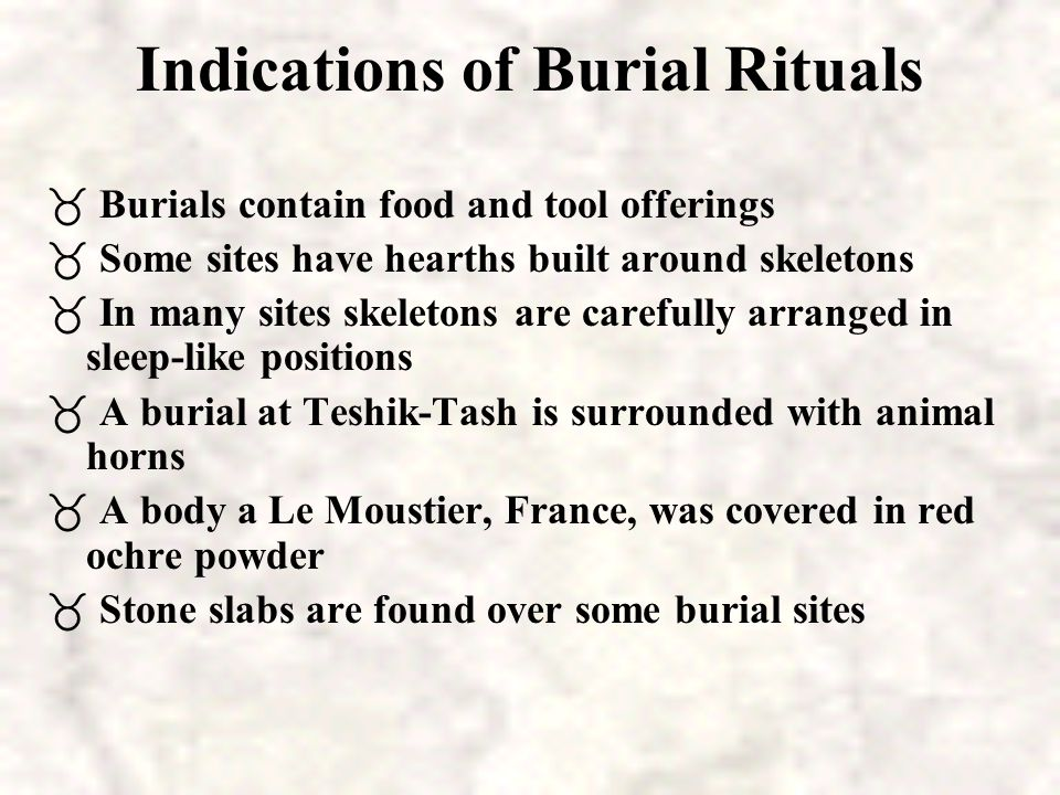Neandertal Death Rituals Model of mourning Neandertal woman Gibraltar Burial in Fetal Position