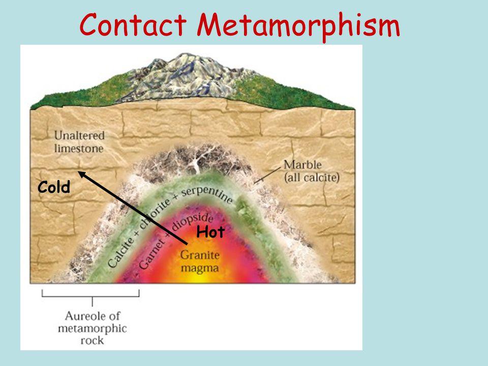 Contact Metamorphism Hot Cold