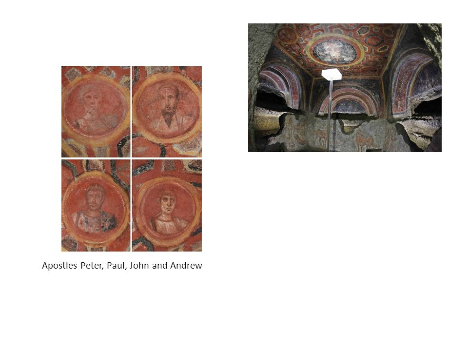 Apostles Peter, Paul, John and Andrew