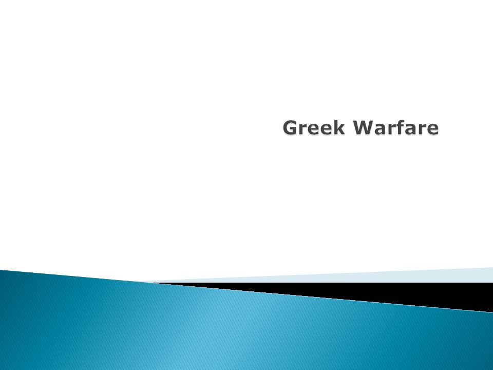 The city-states in Greece were constantly in war with each other.