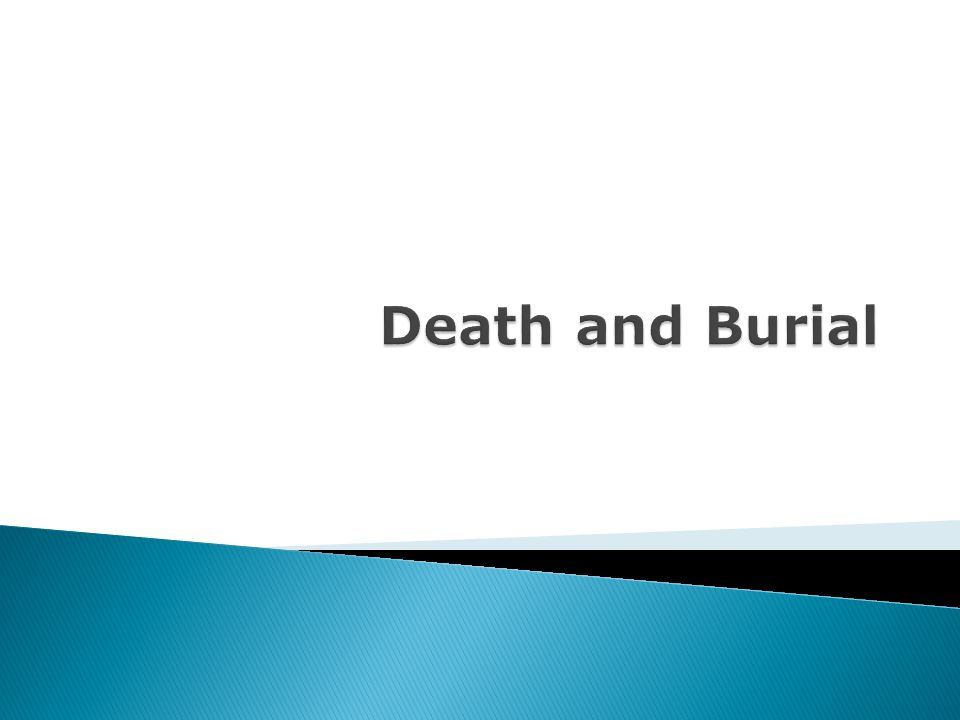 The Greeks believed that burial was sacred.
