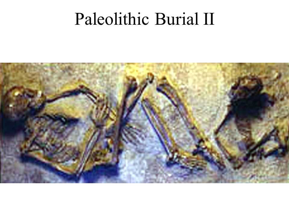 Paleolithic Burial II
