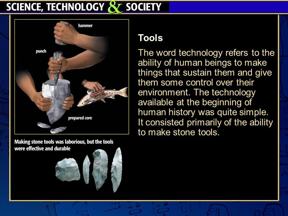 Paleolithic Stone and Bone Tools