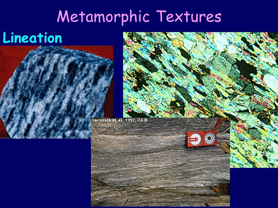 Metamorphic Textures Lineation