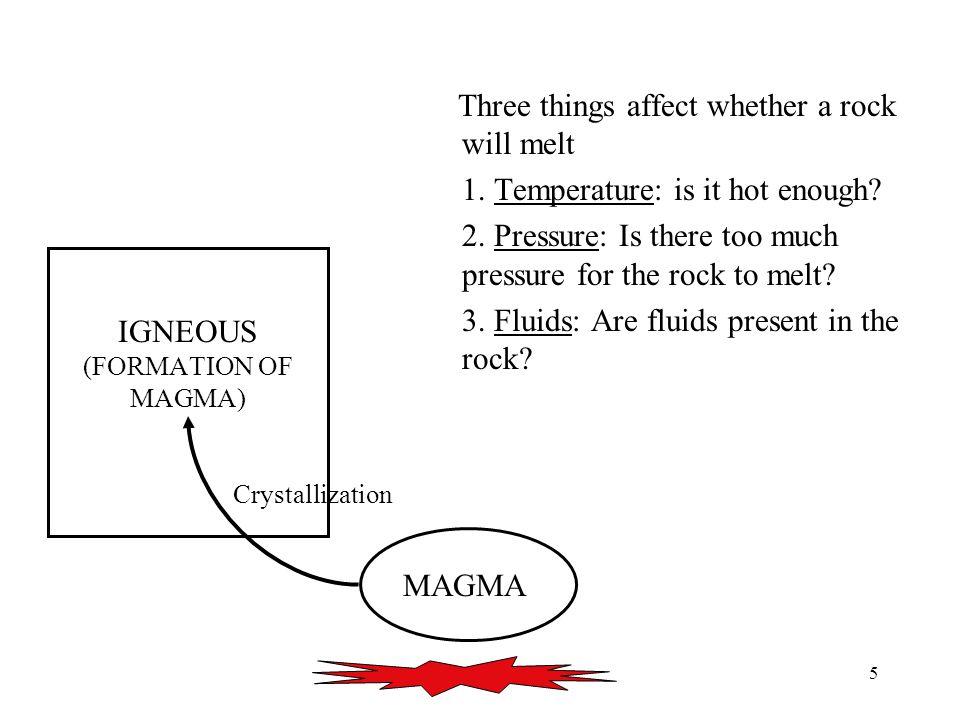 16 MAGMA Volcanic IGNEOUS Plutonic SEDIMENT SEDIMENTARY Uplift Crystallization Weathering Erosion Transport Deposition Lithification