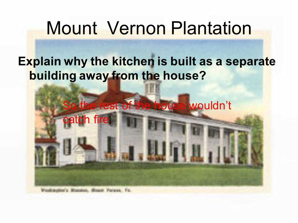 Mount Vernon Plantation George Washington was born in what state.