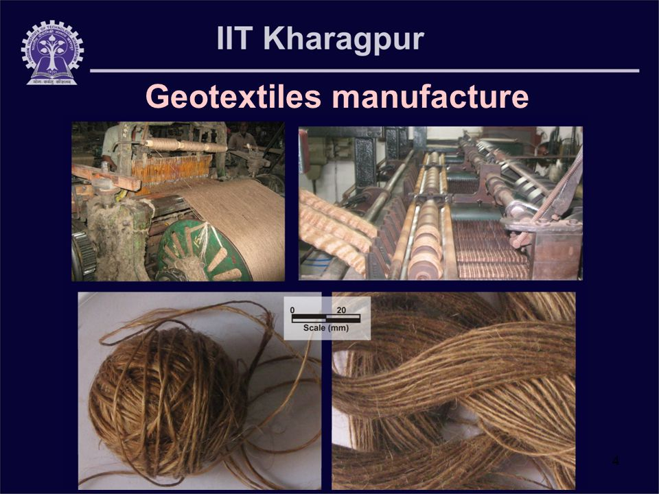 4 Geotextiles manufacture