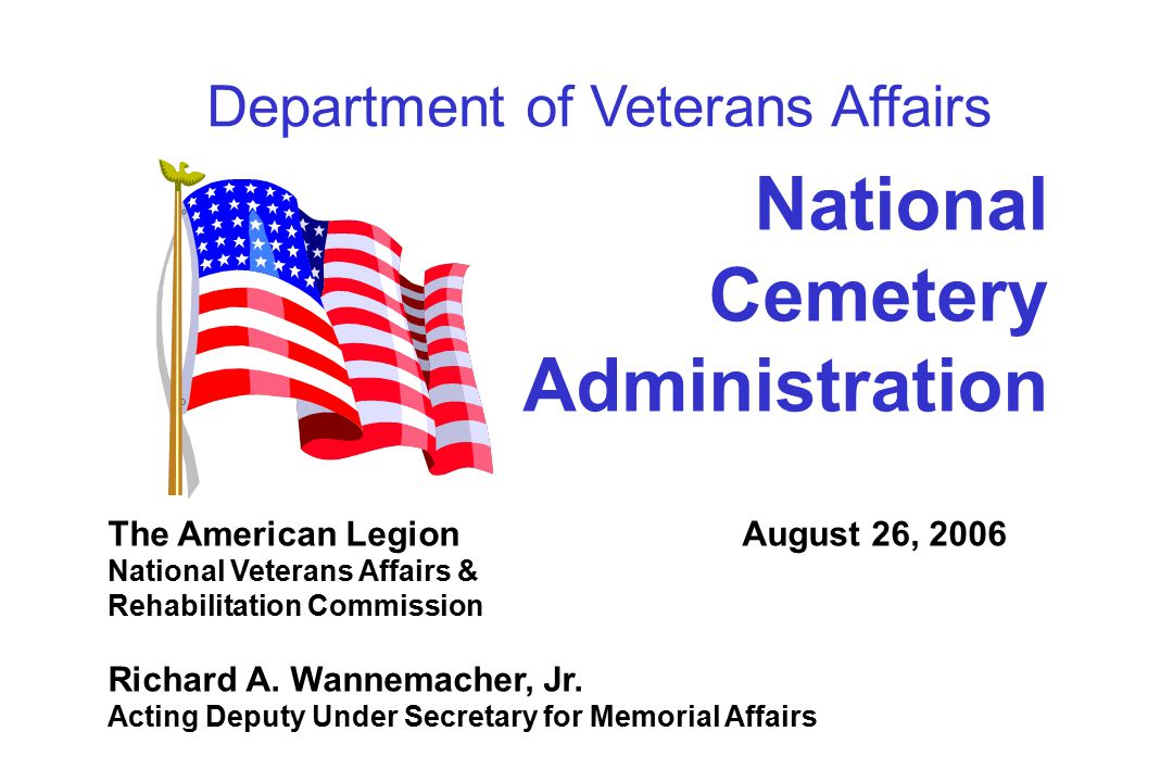 12 State Cemetery Grants Program  VA provides 100% of development costs  $258 million awarded in 150 grants since 1980  36 states, Guam, Northern Mariana Islands received grants  63 operational, 5 under construction  States provided 20,822 burials in FY 05