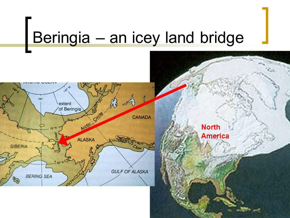 Beringia – an icey land bridge North America