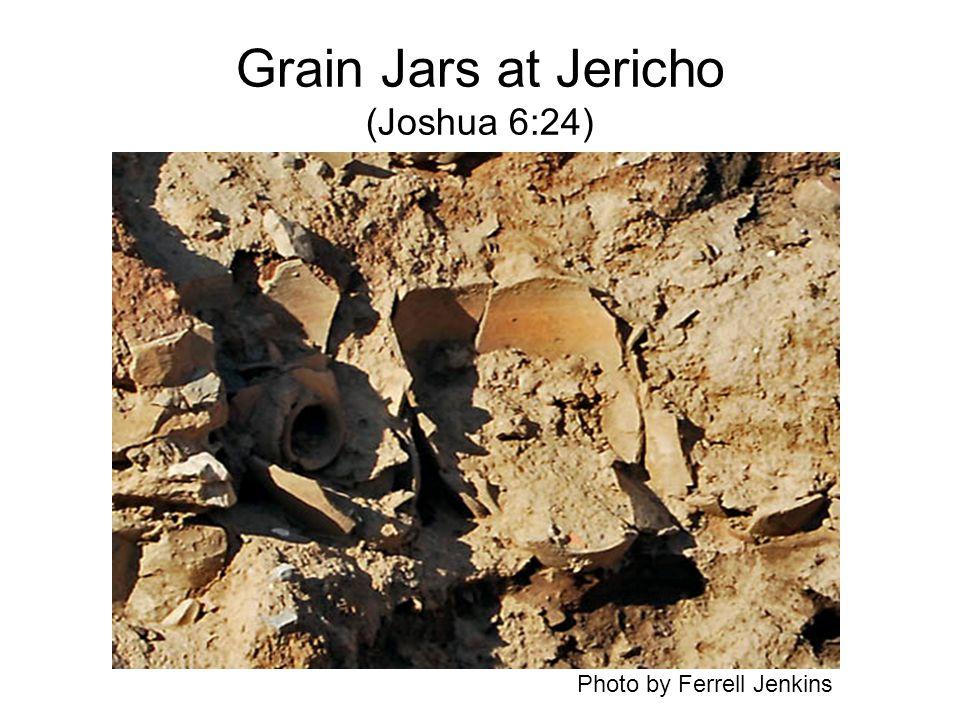Grain Jars at Jericho (Joshua 6:24) Photo by Ferrell Jenkins