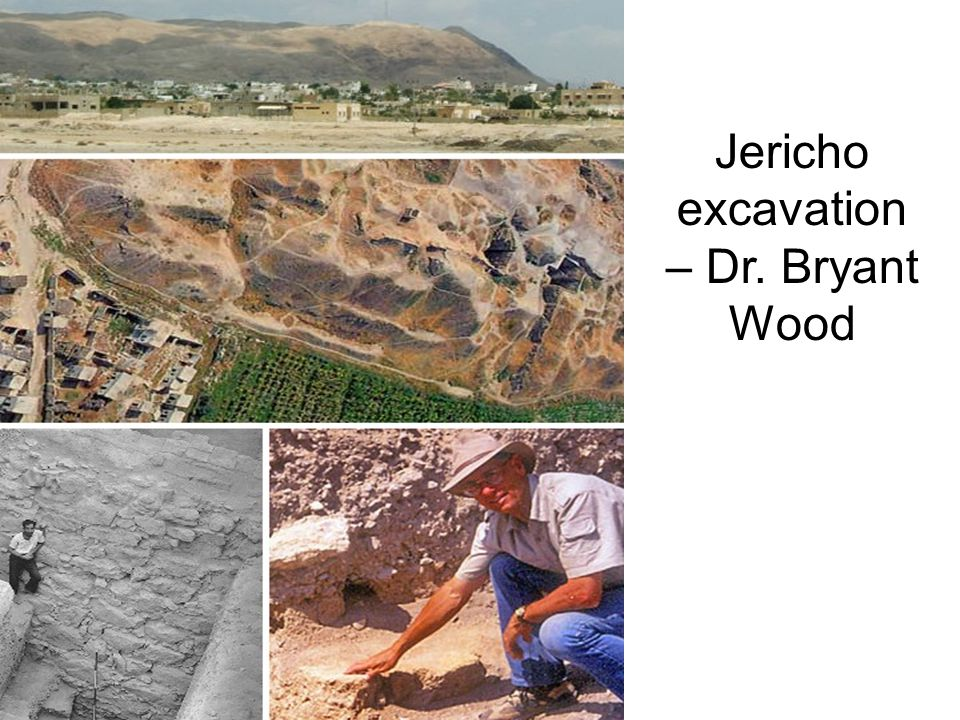 Jericho excavation – Dr. Bryant Wood