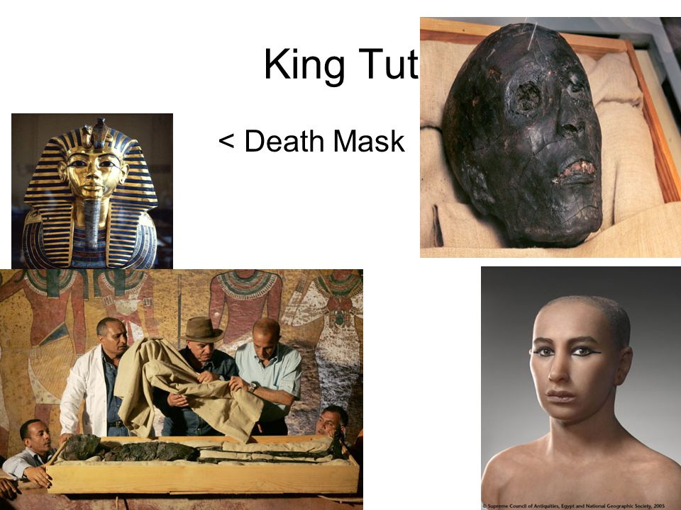King Tut < Death Mask