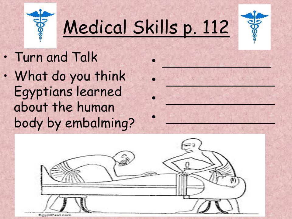 Medical Skills p.
