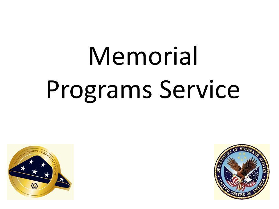 Memorial Programs Service