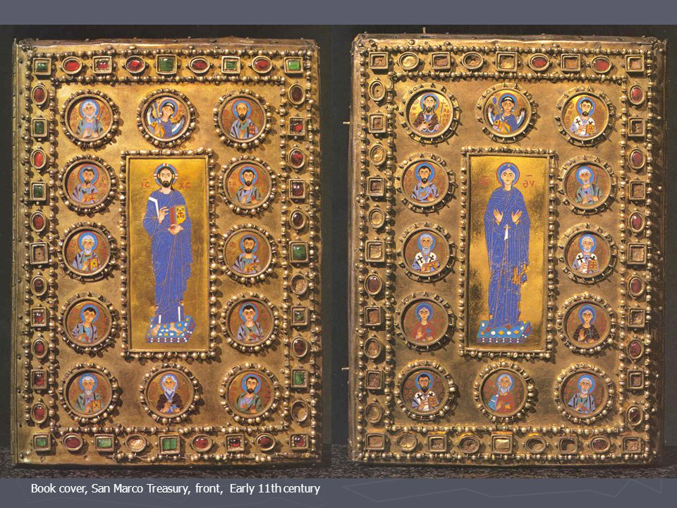 Book cover, San Marco Treasury, front, Early 11th century