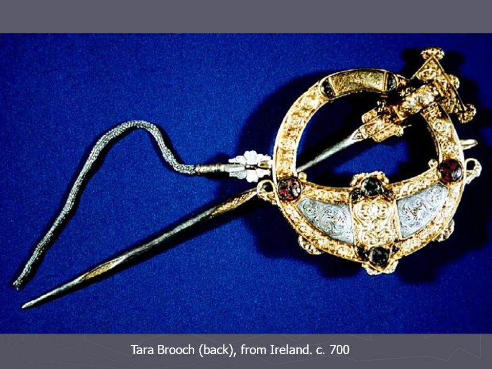 Tara Brooch (back), from Ireland. c. 700