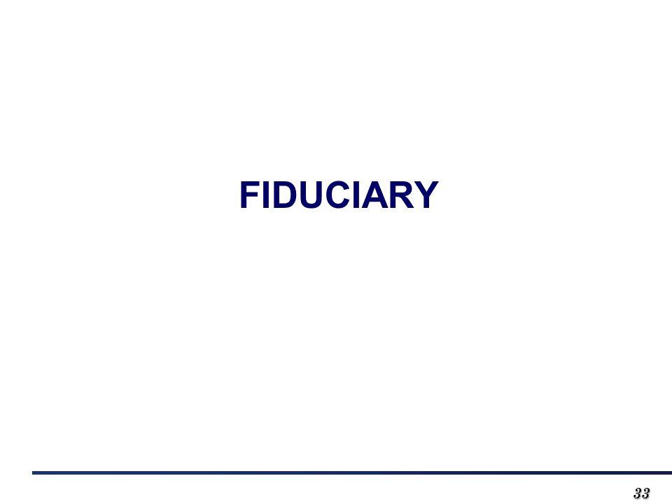 3333 FIDUCIARY