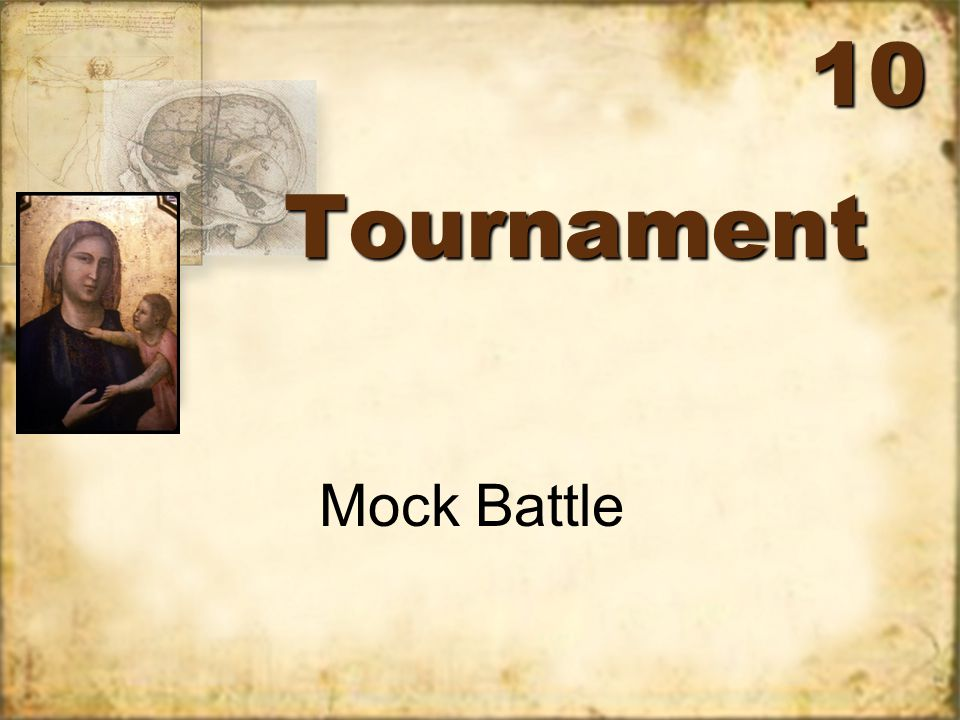 TournamentTournament Mock Battle 10