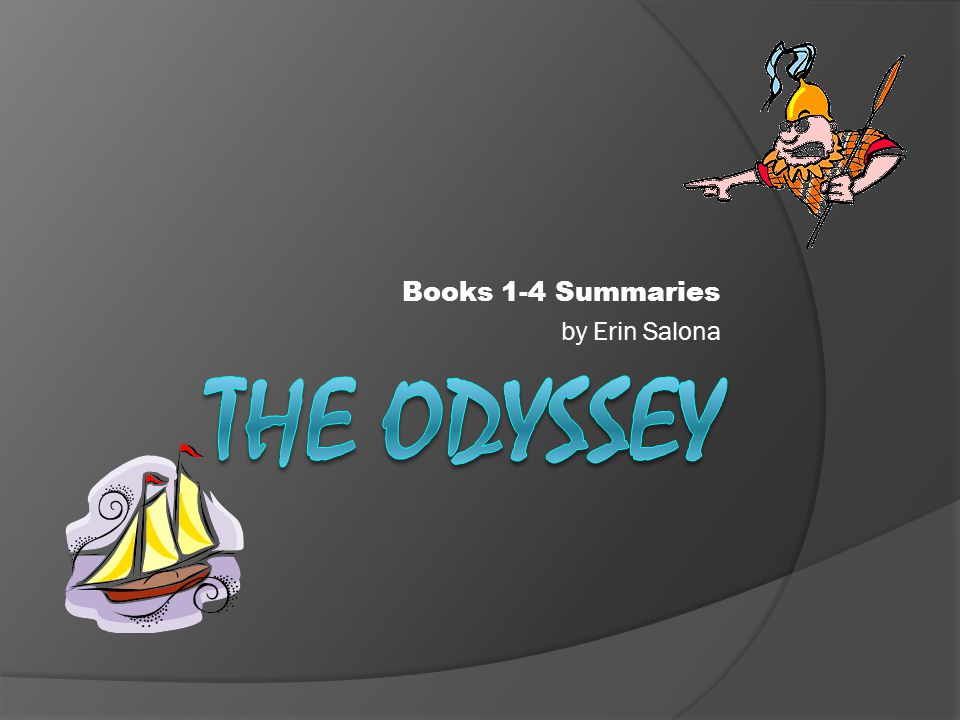 Books 1-4 Summaries by Erin Salona