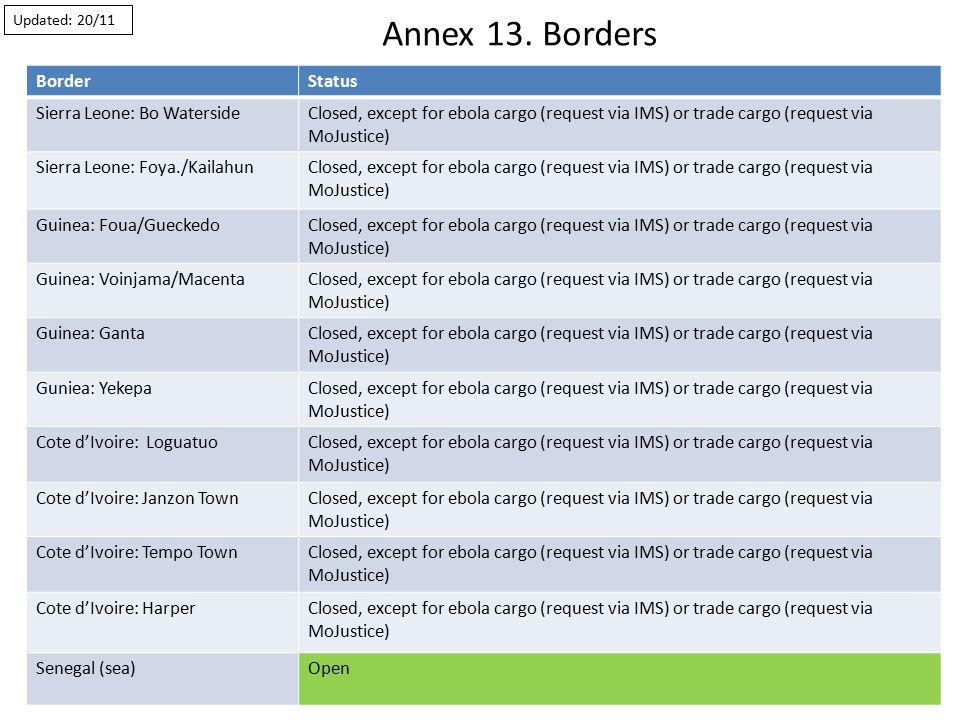 Annex 13.