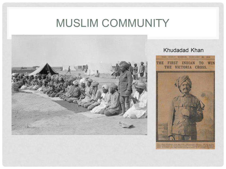 MUSLIM COMMUNITY Khudadad Khan