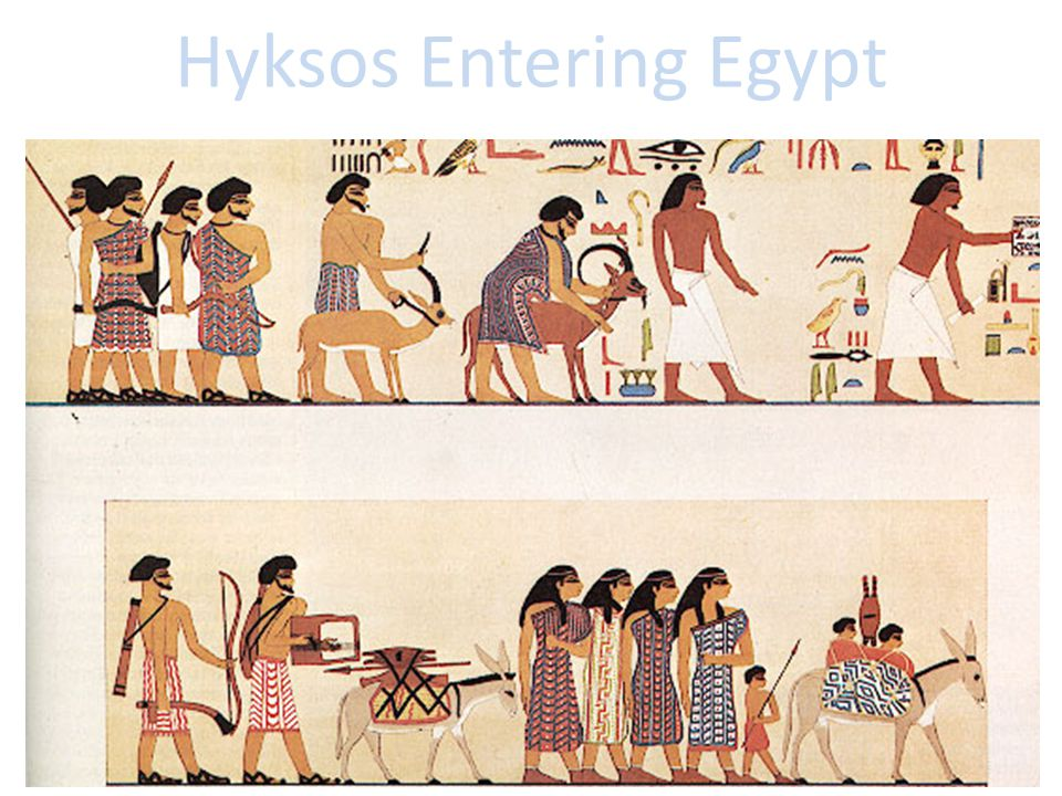 Hyksos Entering Egypt
