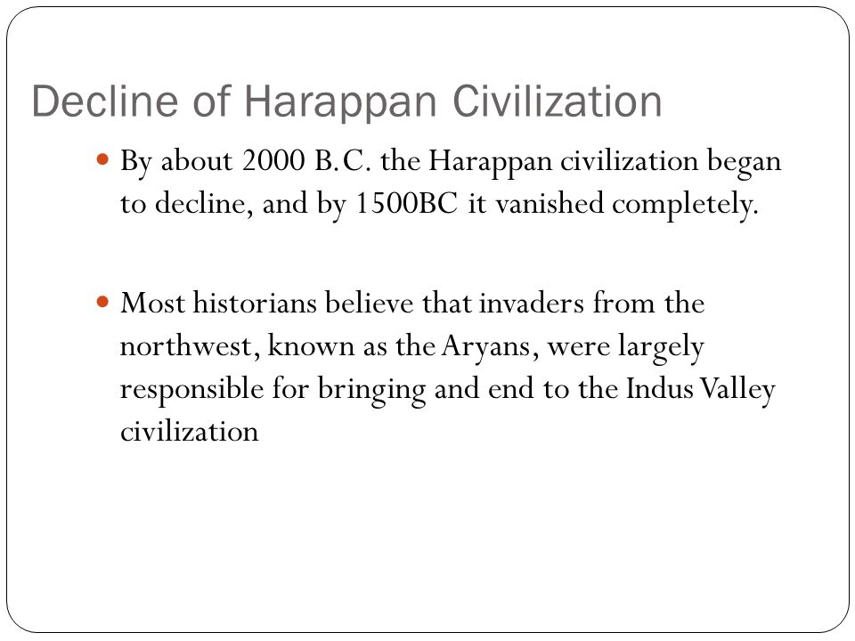 The Ganges Civilization and the Rise of the Hindu Religion The Aryans controlled India during the thousand year period commonly known as the Ganges civilization.