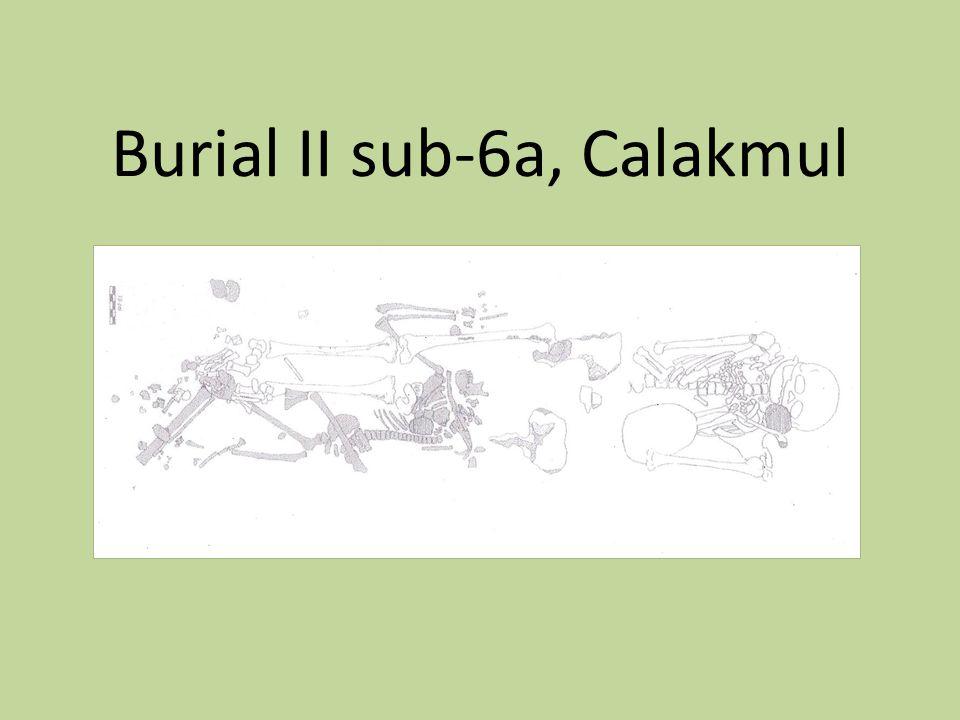 Burial II sub-6a, Calakmul