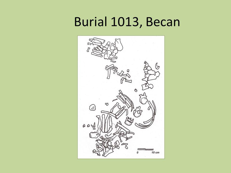 Burial 1013, Becan