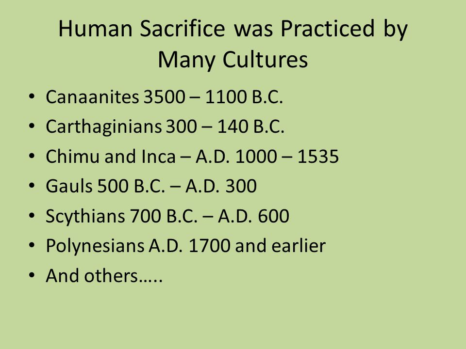 What Are The Sources of Information on Mayan Human Sacrifice.