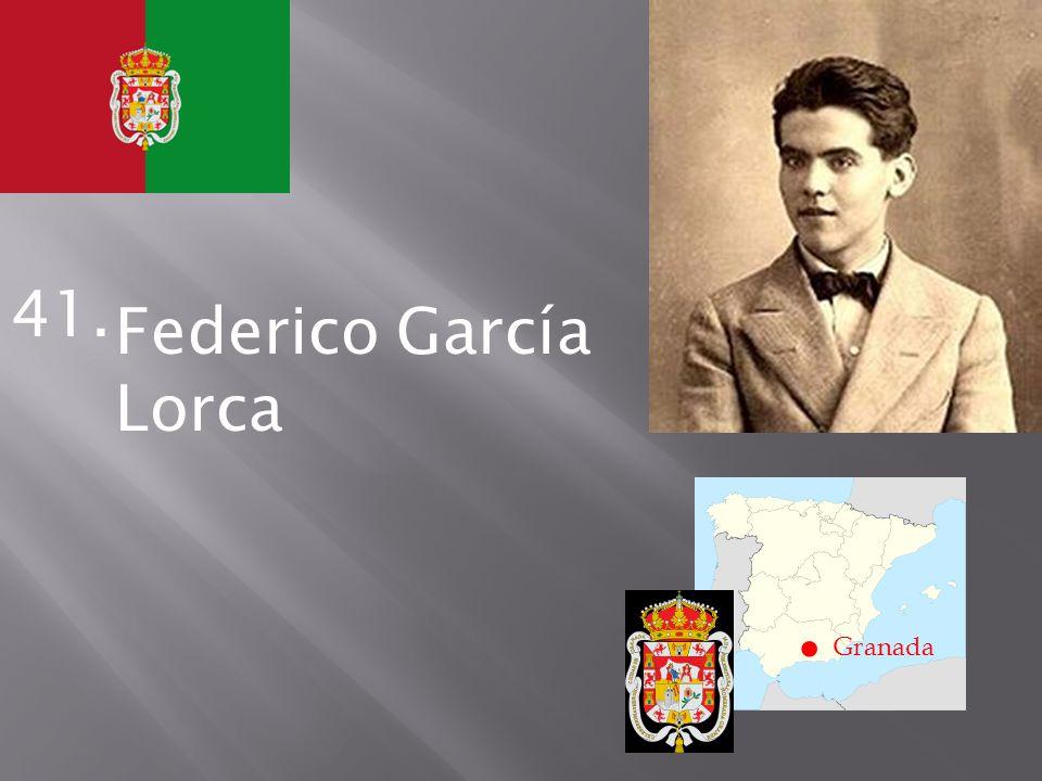 . Granada 41. Federico García Lorca
