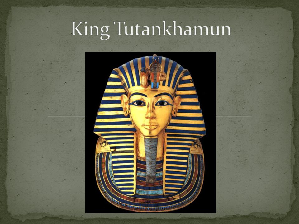 King Tutankhamen (Tut) began his rule at age 9 and ruled Egypt for 10 years His rule was known for reversing the religious reforms of his father, Pharaoh Akhenaten.