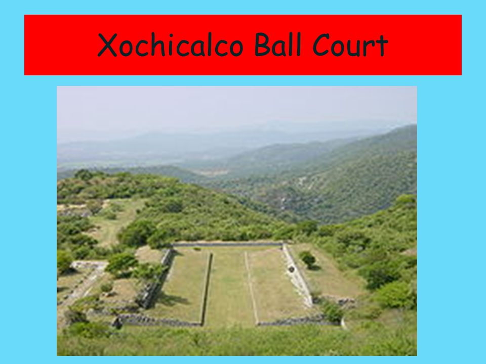 Xochicalco Ball Court