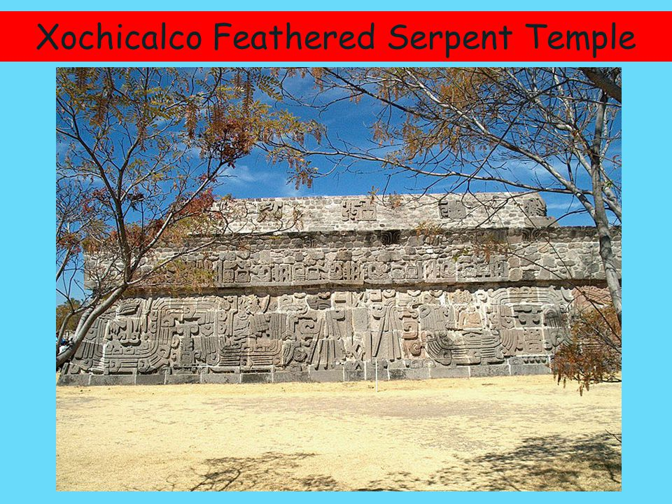 Xochicalco Feathered Serpent Temple