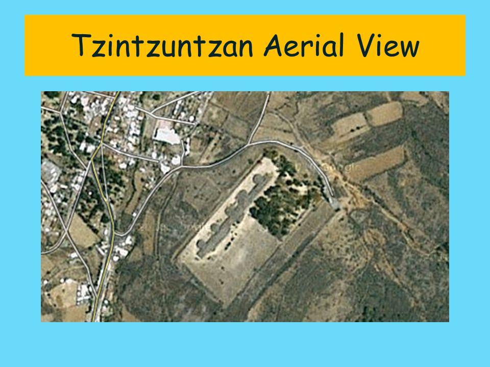 Tzintzuntzan Aerial View