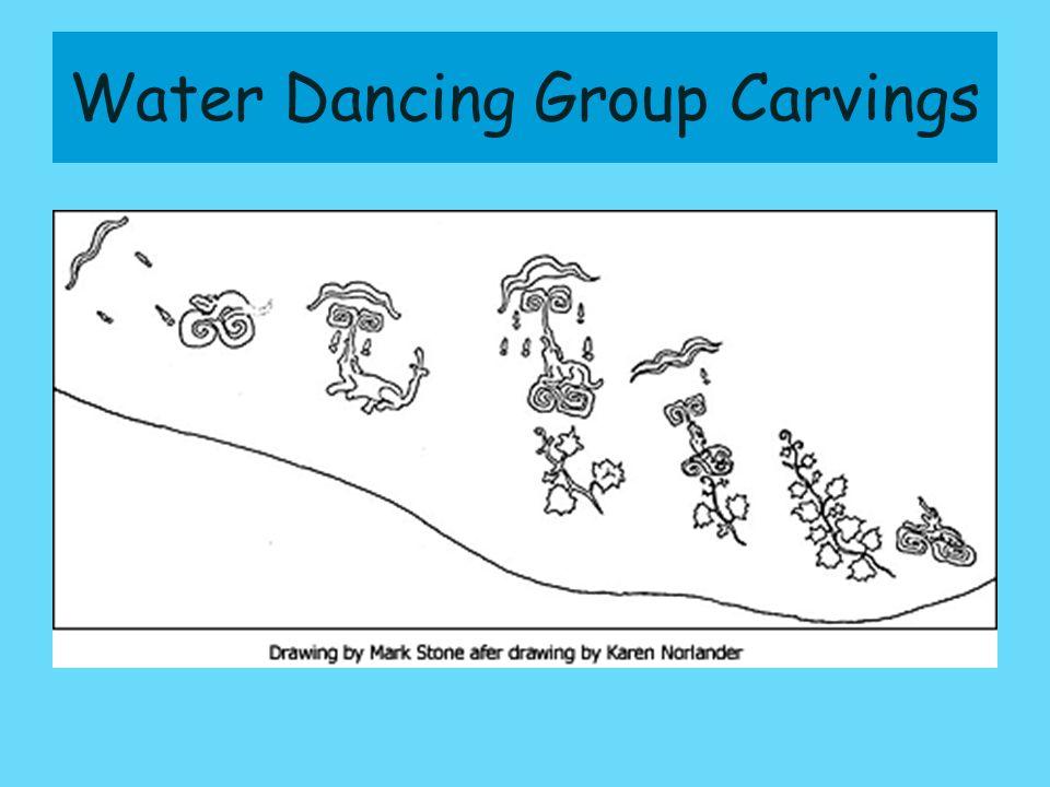 Water Dancing Group Carving Detail